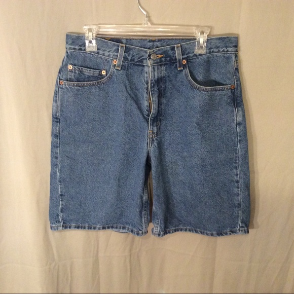 a613881a Levi's Shorts | Levis Jean Relaxed Fit 550s Size W34 | Poshmark